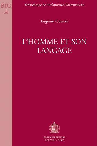 L'homme et son langage