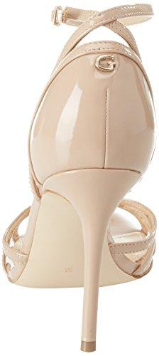 Guess Footwear Dress Sandal, Chaussures Avec Bride À La Cheville Femme Beige (medium Natural)