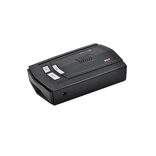 Easy-topbuy Détecteur de GPS pour Voiture détecteur de Vitesse limitée à 360° pour Voiture Détecteur Anti-Radar avec Voix alerteAffichage LED