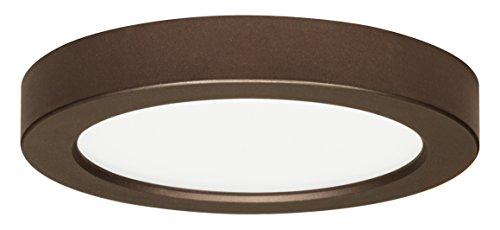 Satco Produkte S9330 120 Volt Runde blinken Flush Mount LED-Leuchte, 13.5W/7