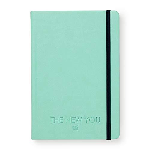 THE NEW YOU - Das Buch, das dein Leben verändert: Life-Coach & Planer | Erfolgsjournal, Dankbarkeitsjournal für ein glücklicheres & erfüllteres Leben (Mint) -