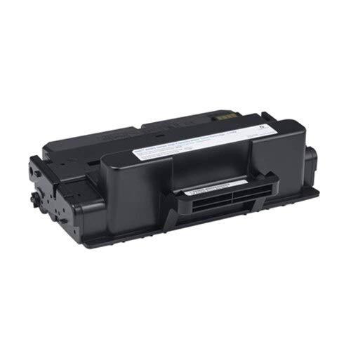 1x Original Toner 593BBBJ fuer Dell B 2375 DN - Black - Leistung: ca. 10000 Seiten + 500 Blatt Ti-Sa Kopierpapier 80g weiß - -