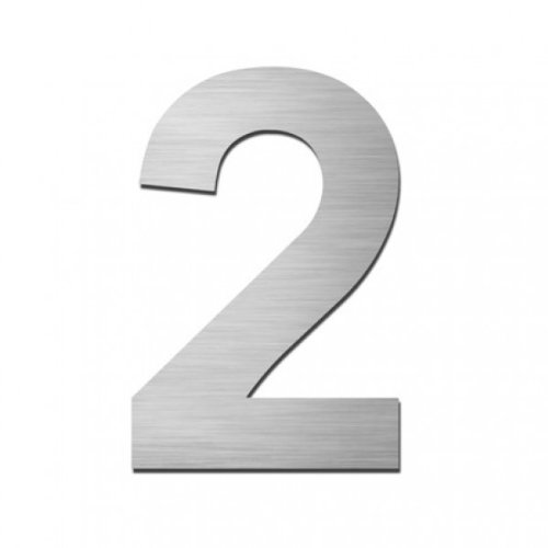 Hausnummer geschliffen (2)