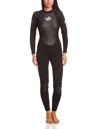 TWF - Neopreno para surf, color negro, talla