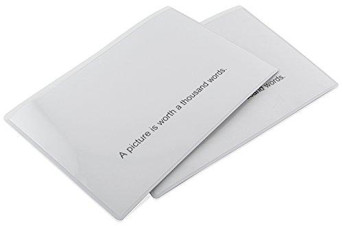 Master Magnetics ZGPHP4X6MW-CX10 Magnetische Hüllen, flexibel, transparente Kunststofftasche mit...