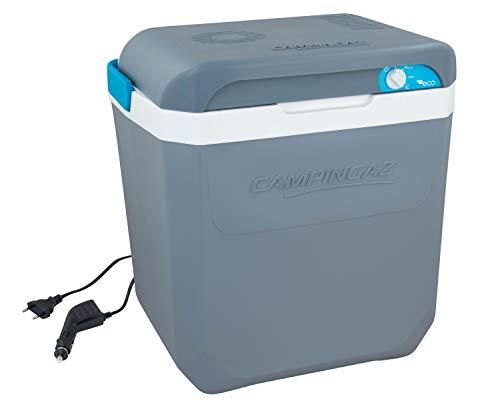 Campingaz Powerbox Plus Thermoelektrische 12V/230 V Kühlbox, Hochleistungs-Kühlbox Auto, mit UV Schutz, 28 Liter