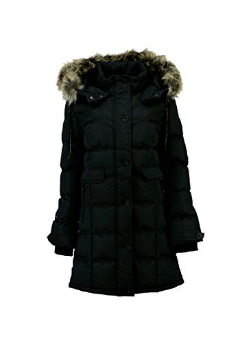 Geographical Norway - Doudoune Femme Calory Noir-Taille - 4