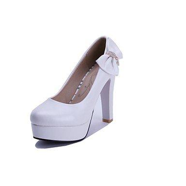 Zormey Women'S Shoes Stiletto Heel/Plattform/Round Toe Heels Party & Amp Abend-/Kleid Blau/Rosa/Wei? US6 / EU36 / UK4 / CN36