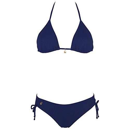 Chiemsee Damen Alessandra Triangle Bikini Medieval Blue L