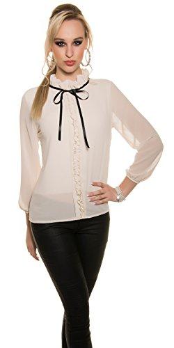 In-Stylefashion - Débardeur - Femme beige beige taille unique Beige