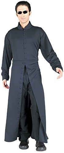Matrix Neo Kostüm für Herren, Größe:M/L (Neo Halloween Kostüme)