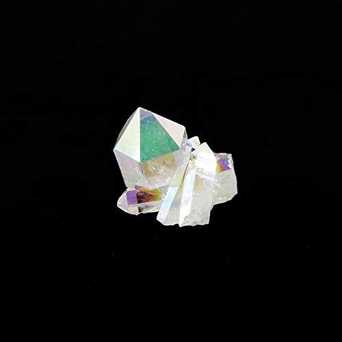 Mineral Import Quarzdruse Aqua Aura, mittelgross (5-10 g)
