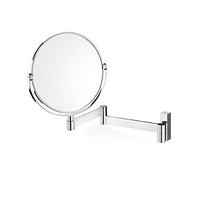 "ZACK 40045 ""LINEA"" Kosmetikspiegel, Wandmontage, Edelstahl hochglänzend"