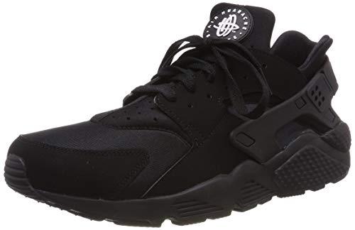 Nike Air Huarache, Scarpe da Ginnastica Uomo, Nero (Black/White), 43 EU