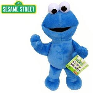 Barrio Sésamo - Peluche del Monstruo de las Galleta - Sesame Street - Cookie Monster 28cm Plush