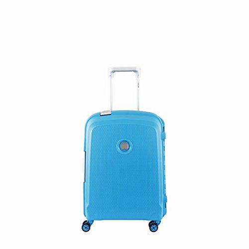 Delsey Belfort Plus Bagage Cabine, 55 cm, 44 L, Bleu Vert