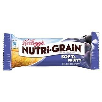 Kelloggs Nutrigrain Blueberry 28X37G -