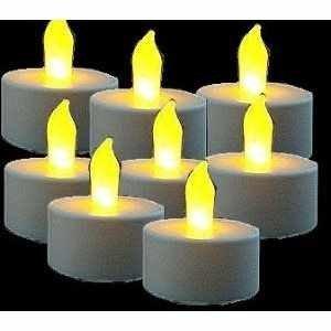 10x LED Teelichter flackernd inkl. Batterien CR2032 , flammenlose LED Kerzen mit Flackereffekt von iapyx® - Lampenhans.de