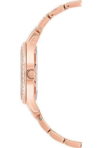 CHRIST times Damen-Armbanduhr Analog Quarz One Size, perlmutt, rosé - 4