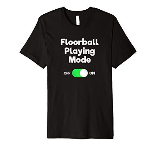 Unihockey T-Shirt–Funny Floorball Spielen Modus
