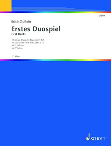 Frohes Duospiel Violons