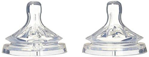 Philips Avent SCF656/27 - Tetina natural, para líquidos espesos, 2 unidades