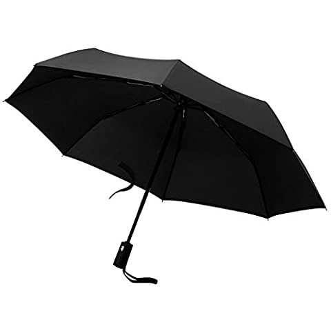 Taschenschirm Schirm Regenschirm, MLoveBiTi 8-Rippen voll-automatischer Auf-Zu-Automatik Regenschirm, 210T Pongee