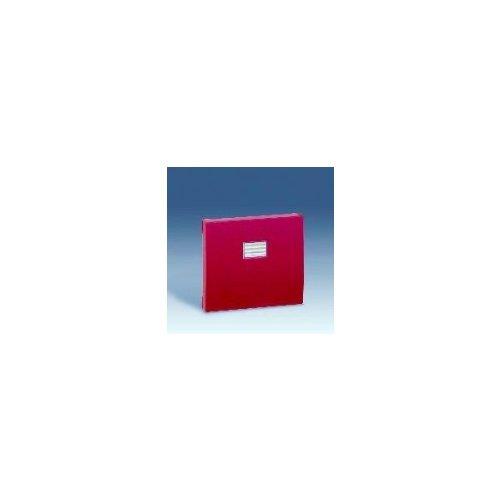 Simon 4400010-037 - Tecla Simple Rojo S.44 Aqua