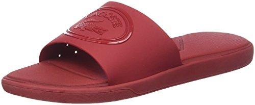 Lacoste L.30 Slide 318 1 Caw, Infradito Donna, Rosso Red Rr1, 38 EU