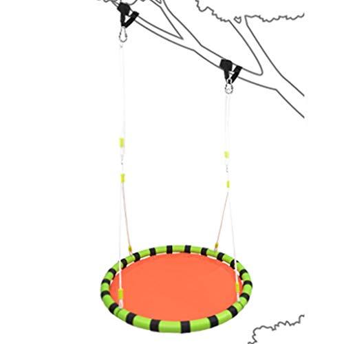 LMDS Saucer Tree Schaukelsitz mit Gurten und verstellbaren mehrsträngigen Seilen