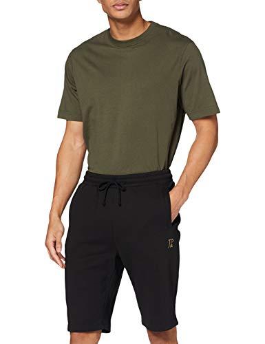 JP 1880 Herren große Größen bis 8XL, Bermuda-Shorts, Kurze Jogginghose mit elastischem Bund, Sweat-Pants mit 2 Taschen schwarz 6XL 702636 10-6XL