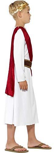Smiffys Costume Antico Romano, bianco, con Veste, Cinta e Copricapo 3 spesavip