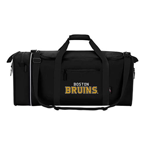 Northwest Unisex NHL Steal Duffel, Schwarz, Measures 28 Length, 11 Width and 12-inches in Height -