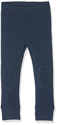 NAME IT Baby-Jungen Leggings NMMWILLIT Wool LONGJOHN NOOS Mehrfarbig (Dress Blues) 98