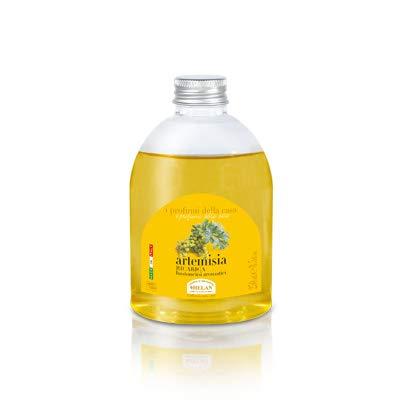 Helan - profumi casa artemisia - ricarica bastoncini 250 ml [1 confezione] efficace | naturale | benessere quotidiano - [kit con integratore tonico-adattogeno in omaggio]