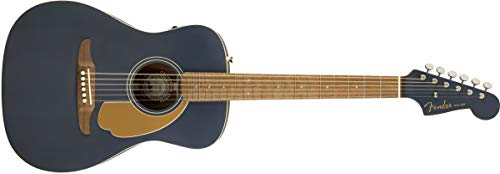 Fender Malibu Player MS WN, Walnut Fingerboard, Midnight Satin