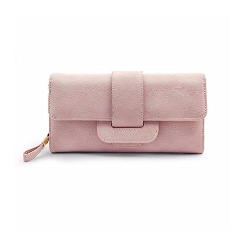 Geldbörse damen,Charminer frauen großer kapazität Geldbeutel Handtasche 5.5-i...
