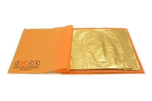 schlag-taille-m-feuille-dor-courroie-en-metal-16-x-16-cm-100-feuilles