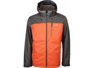 High Colorado Calgary-M 2in1 Jacke Herren Größe XXXL schwarze olive-orange