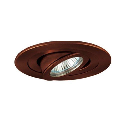 Jesco Lighting TM407AB 4-Inch Aperture Low Voltage Trim Recessed Light, Adjustable Accent, Antique Bronze Finish by Jesco Lighting Group -
