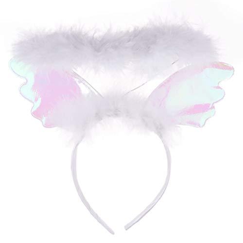 Freebily Diadema de Alas con Aura de Angel Niñas Infántil para Fiesta...