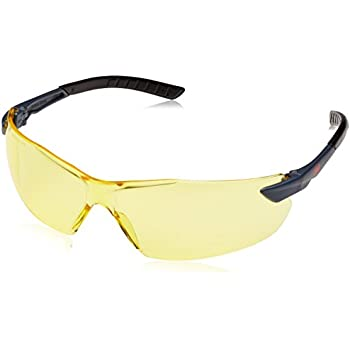 amber Bolle Mamba safety yellow shaded with FREE neckcord cycling glasses