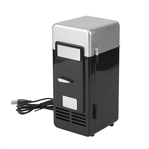 Hnourishy 3 Farbe ABS 194 * 90 * 90mm Energiesparende und umweltfreundliche 5 V 10 Watt USB Auto Tragbare Mini Getränkekühler Auto Boot Reise Kosmetik Kühlschrank (Usb-power-mini-kühlschrank)