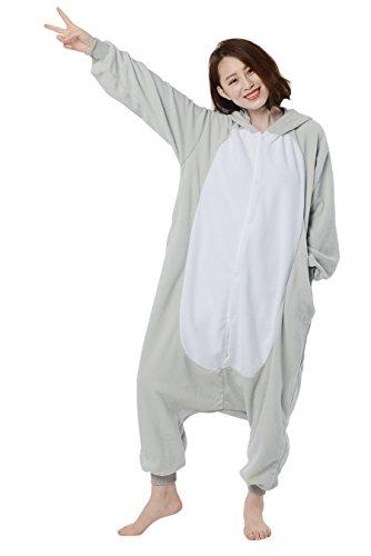 Imagen de cosplay animales pijamas mujer invierno novedad navidad traje disfraz adulto elefante alternativa