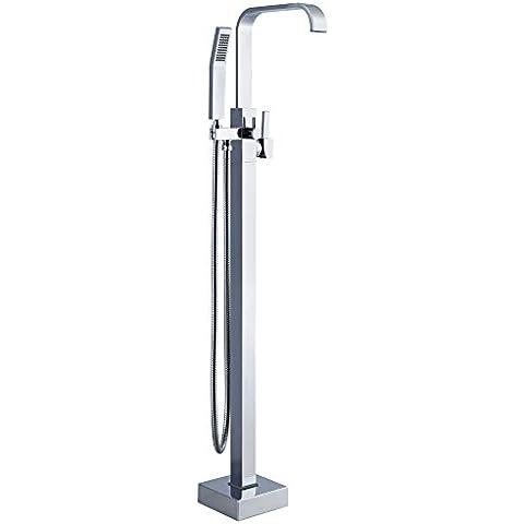 jiuzhuo Libera installazione pavimento rubinetto miscelatore con doccetta