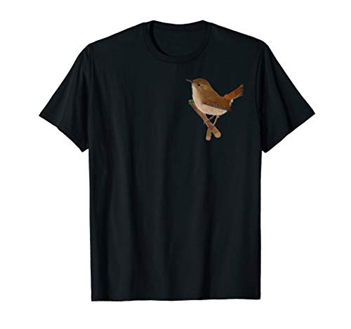 jz.birds Zaunkönig Vogel Design T-Shirt -