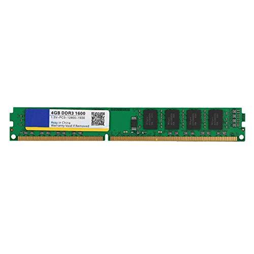 Diyeeni Hochleistungsspeichermodul für RAM für Intel (PC3-12800.4GB, DDR3,1600MHz, 240PIN), kompatibel mit Ihrem Smart Computer -