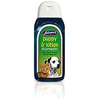 Johnsons White 'N' Bright - Champú para perros y gatos