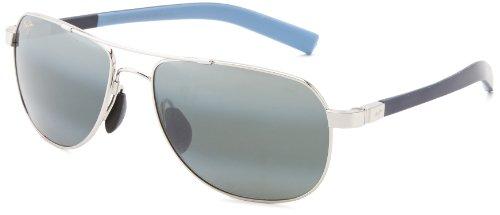 maui-jim-327-17-silver-with-blue-guardrails-aviator-sunglasses-polarised-drivin