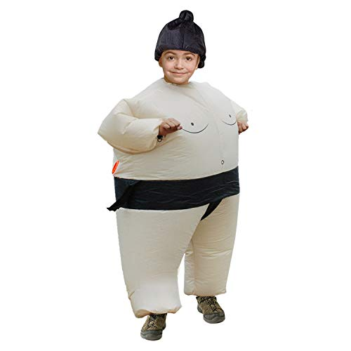 LOVEPET Aufblasbare Sumokleidung Wrestling Fetter Anzug Lustiges Großes Fettes Kostüm Halloween Kleider Die Eltern-Kind-Aktivität Erwachsener Kinder Zeigt Requisiten